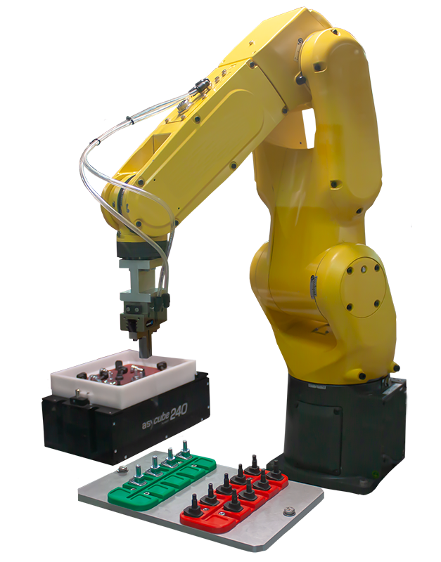la cellule de devracage robotisee