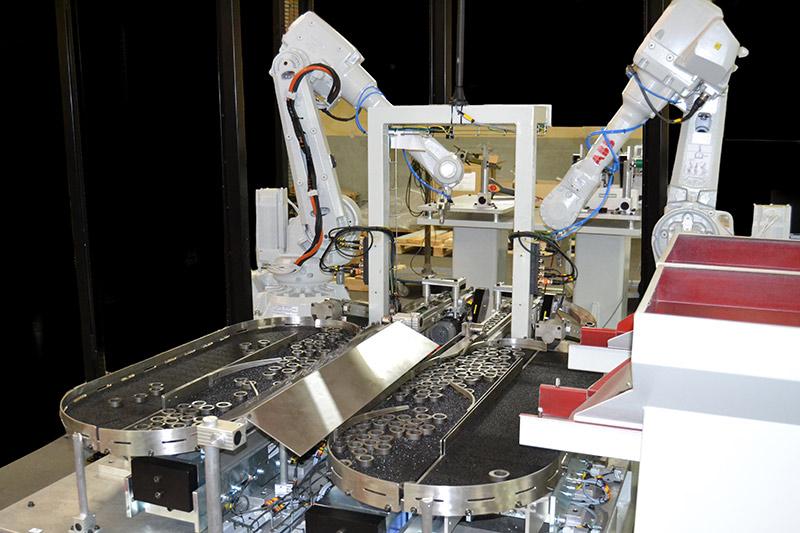 dévracage robotisé