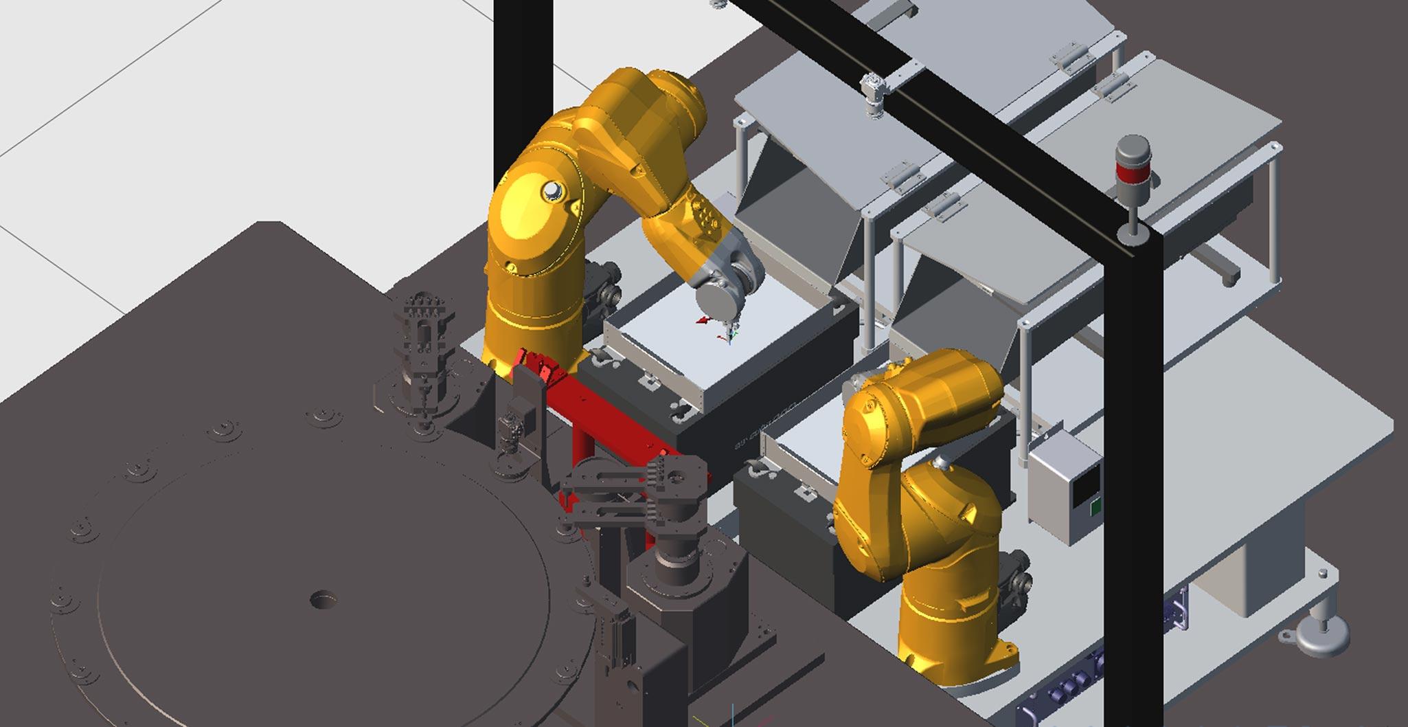 cellule robot 3D
